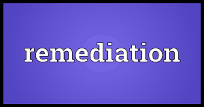 Remediation Information