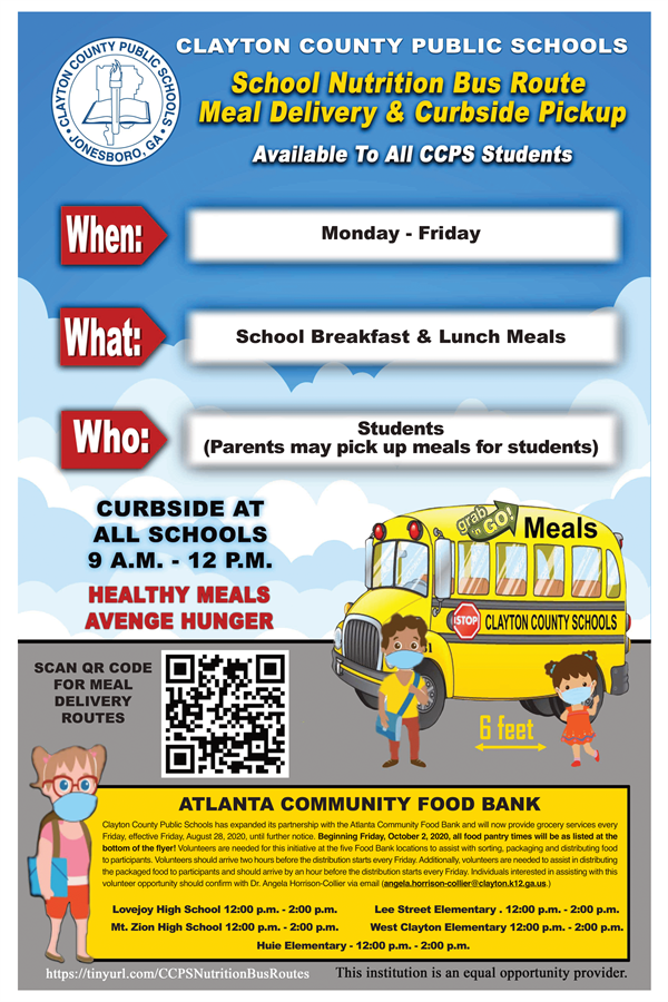 Meal Flyer