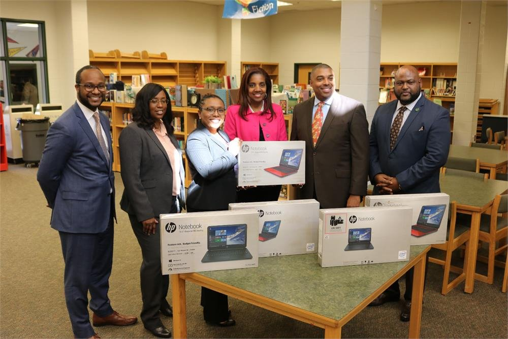 Clayon Co. Solicitor Donates 5 Laptops