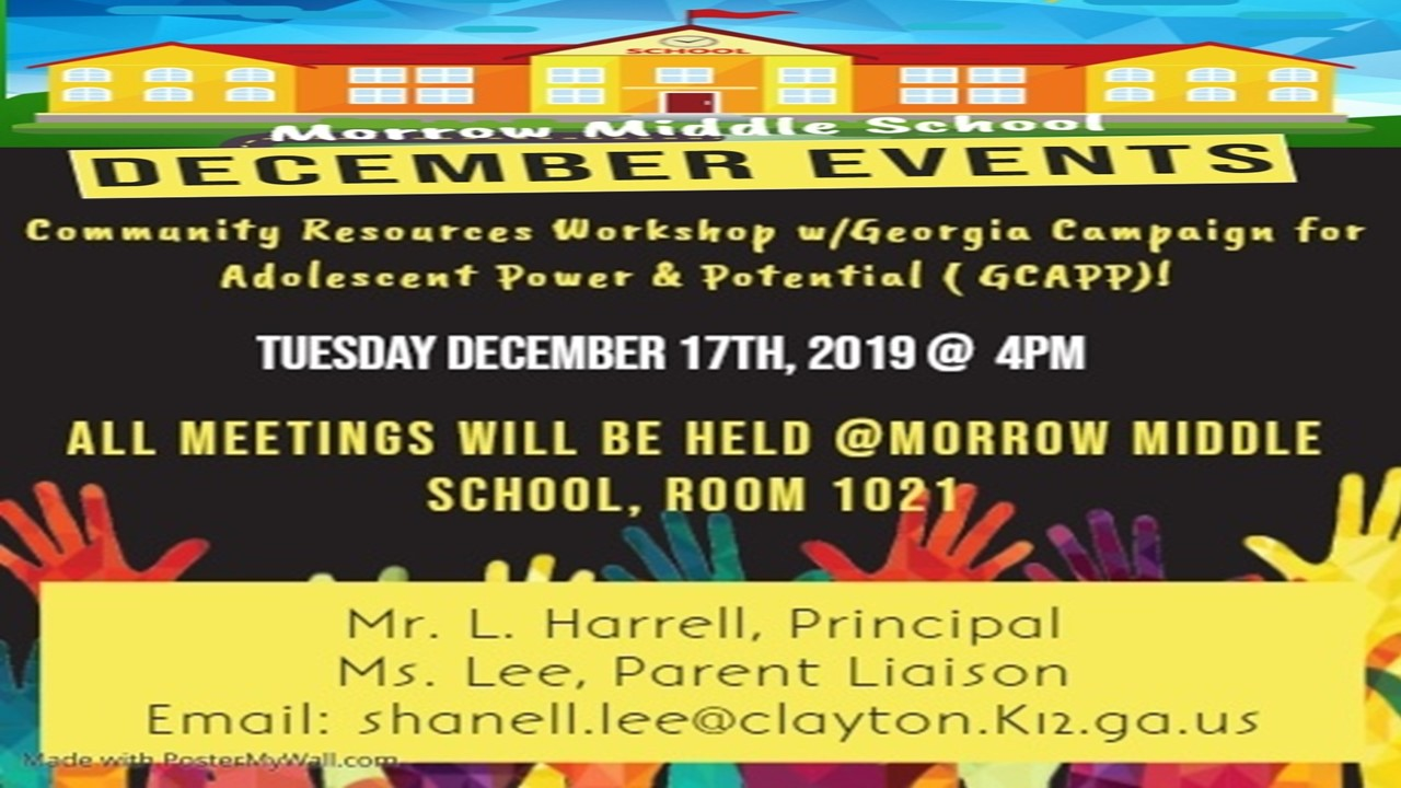 Parent Flyer-December